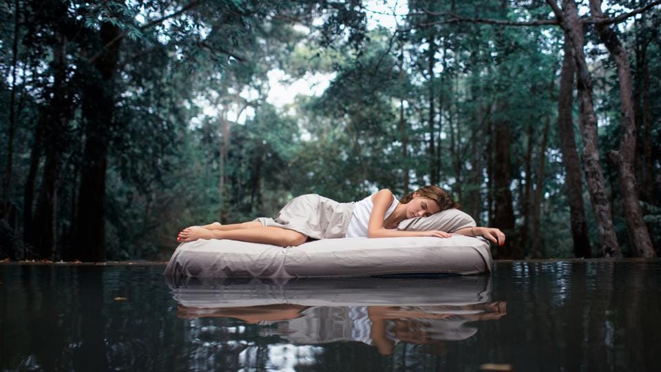 Sleeping well is important for good mental health.
