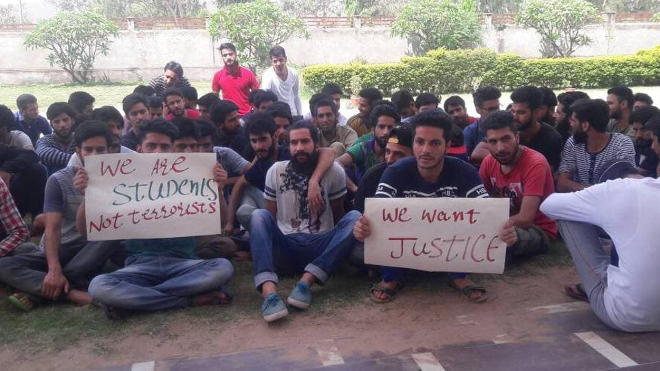 Kashmiri students,Rajasthan,Chittorgarh's Mewar University