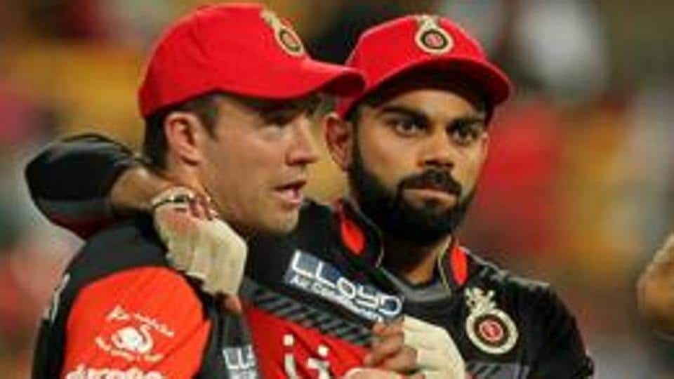 Virat Kohli (right) took AB de Villiers and Shane Watson to an NGOfor children with special needs on Thursday.