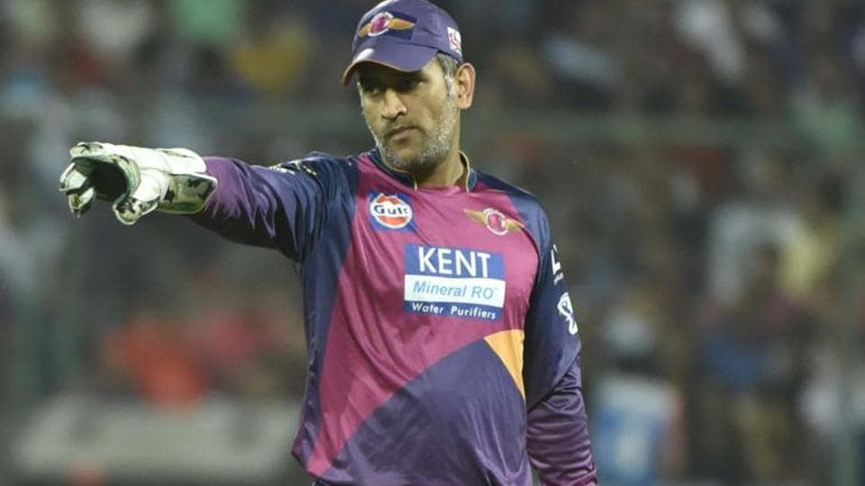 Mahendra Singh Dhoni is currently playing for Rising Pune Supergiant in 2017 Indian Premier League.