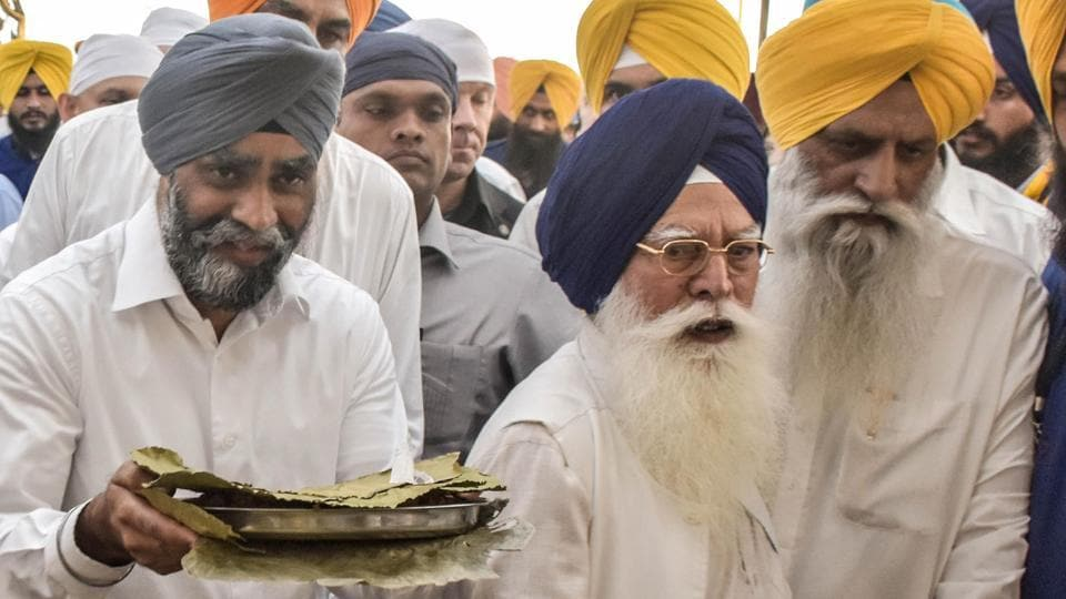 The Canadian defence minister has been in the eye of a storm after Punjab CM Capt Amarinder Singh called him a 'Khalistani sympathiser'.   (Gurpreet Singh)