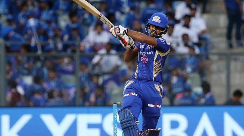 Nitish Rana hit his third fifty of IPL 2017 as Mumbai Indians beat Kings XI Punjab by eight wickets to go to the top of standings.