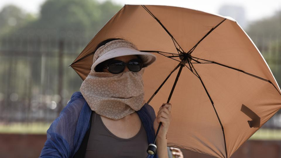 Delhi weather,Thunderstorm,Heatwave