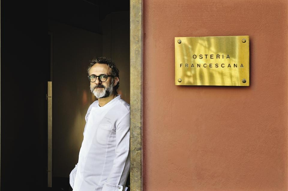 Massimo Bottura's restaurant, Osteria Francescana, has been in the top five in the last few years and earned the top spot in 2016,