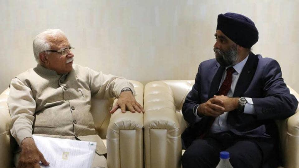 Khalistan,Harjit Sajjan,Capt Amarinder Singh