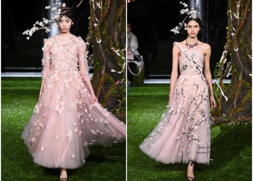 Dior spring/summer 2017 haute-couture fashion show in Tokyo.