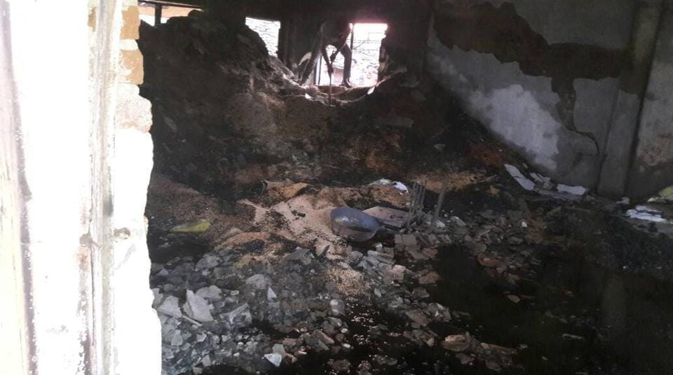 14 killed when fire erupts in store selling kerosene