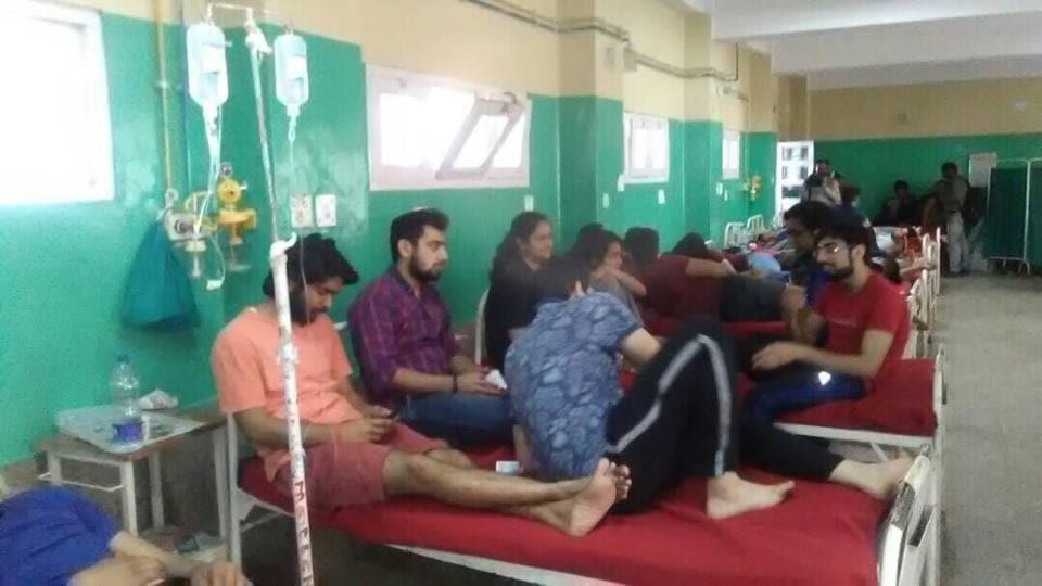 Solan,60 students fall ill,Jaypee University of Information Technology