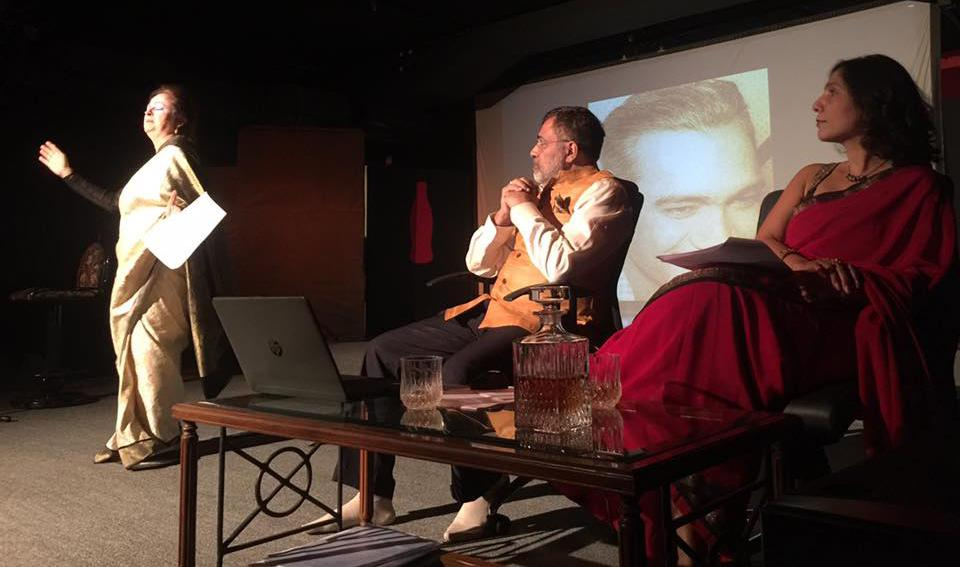 A scene from the play Emperors of Melodies: A Tribute to OP Nayyar