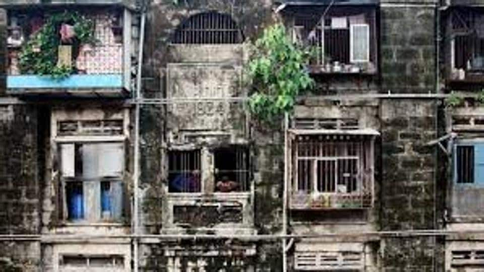 The 207 chawls that were built in the 1920s by the then British government are currently in extremely dilapidated condition.