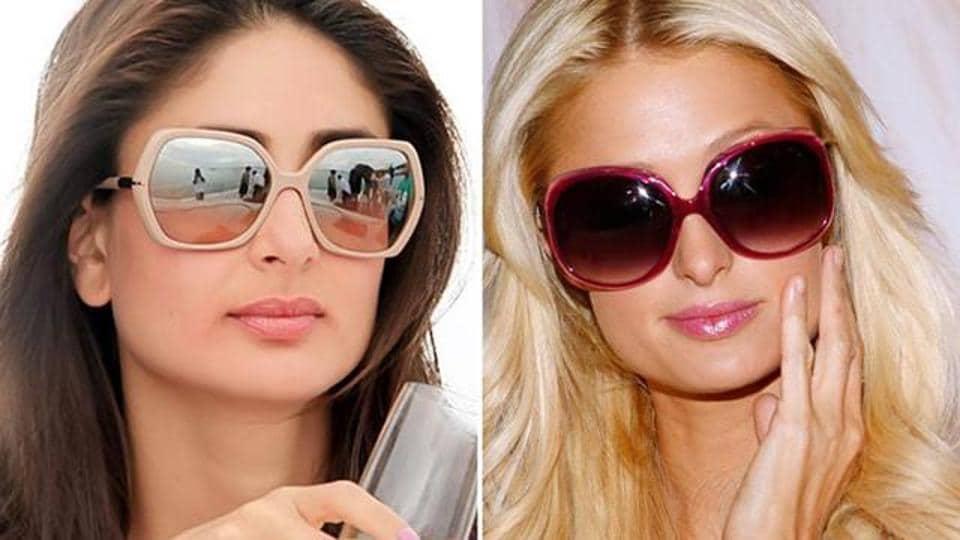 Kareena Kapoor and Paris Hilton.