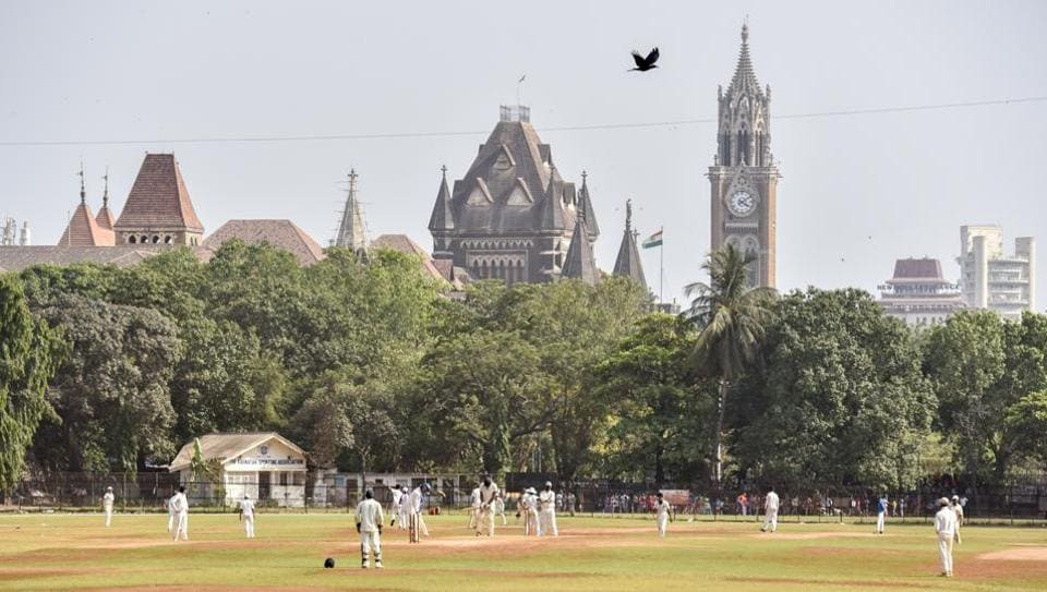 Cricketers practice at Cross Maidan in Mumbai. The city's biggest open spaces — Azad Maidan, Oval Maidan, Cross Maidan and Shivaji Park — will always remain special to a city increasingly struggling for space.