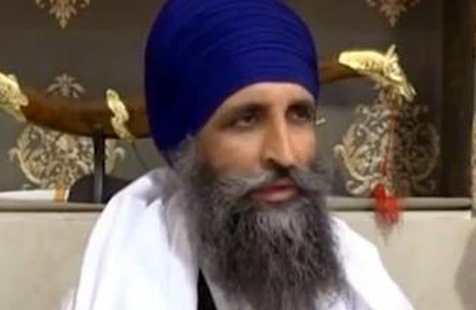 Giani Gurmukh Singh, who has been sacked as Takht Damdama Sahib jathedar.
