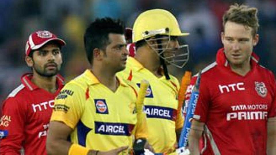 MS Dhoni and Suresh Raina played together for Chennai Super Kings in the Indian Premier League (IPL).