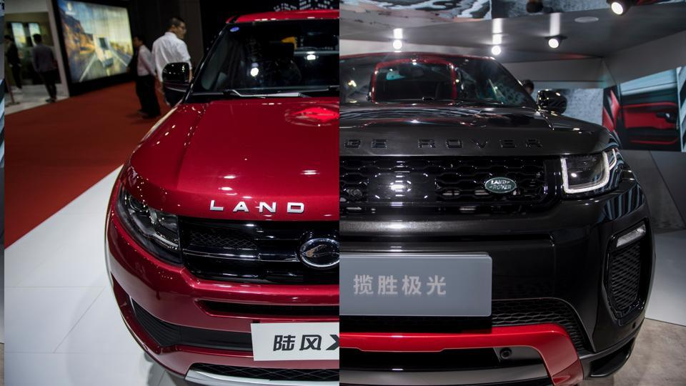 At Shanghai auto show, certain Chinese-made models bear striking resemblances to famous foreign brands.