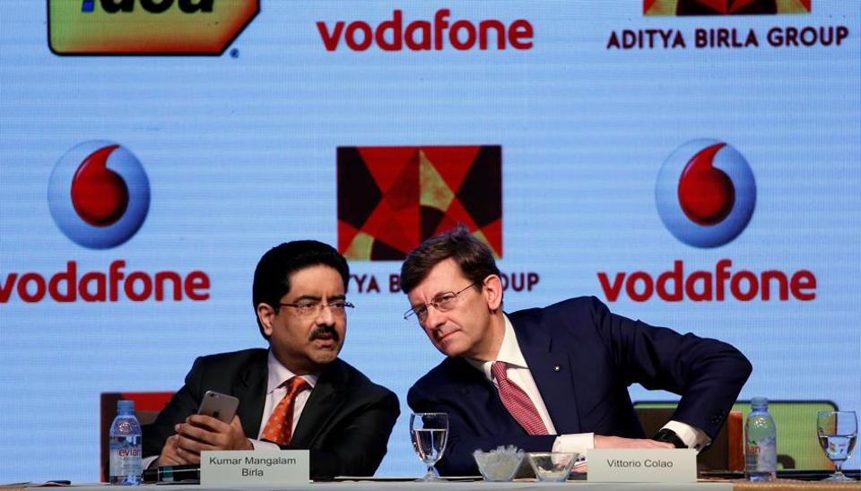 Vodafone,Aditya Birla Group,Idea Cellular