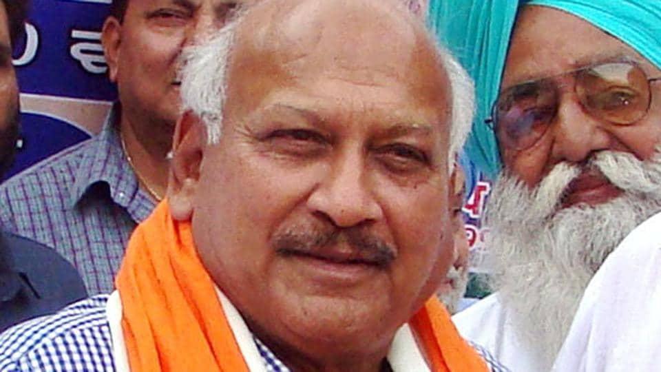 Punjab health minister Brahm Mohindra