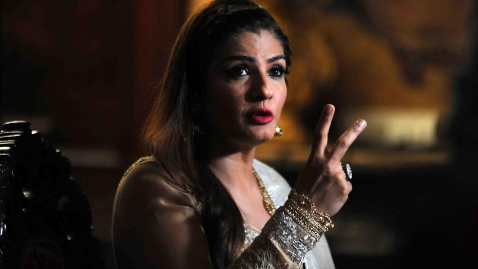 Raveena Tandon plays a rape victim in Maatr.