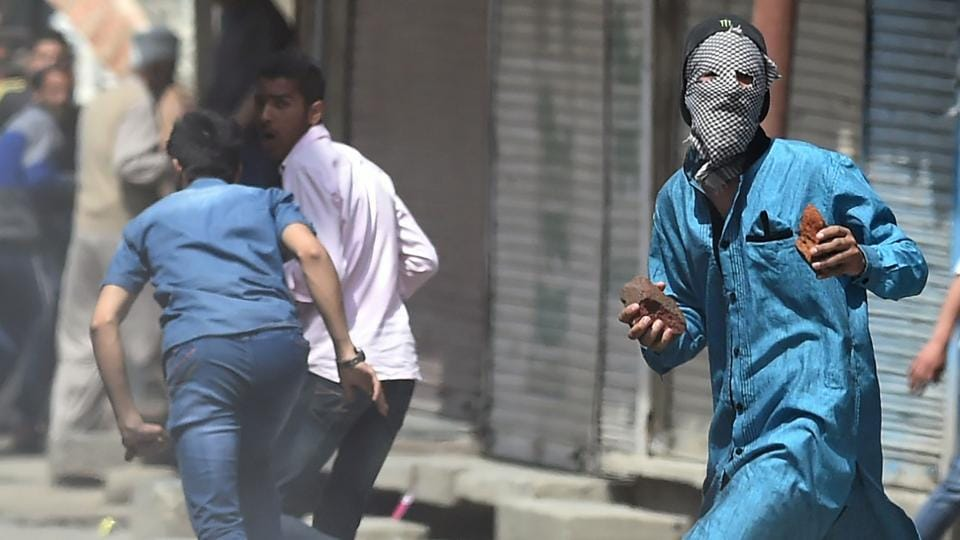 Stone pelting is a common form of protest in the Kashmir valley with 2,690 cases registered in 2016, according to the state government figures