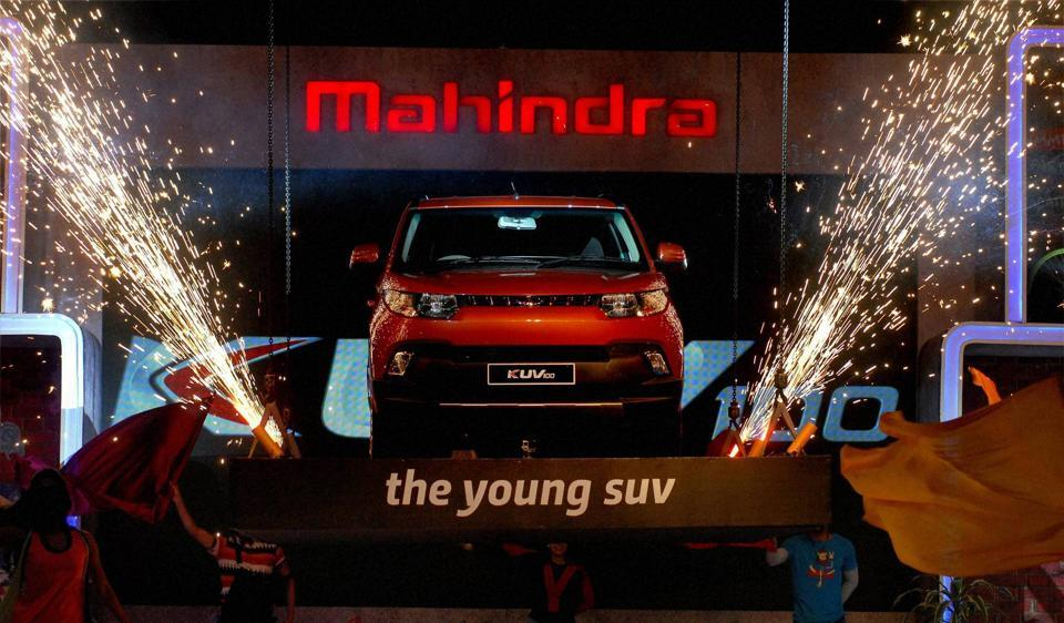 Mahindra KUV 100 was launched in January 2016.