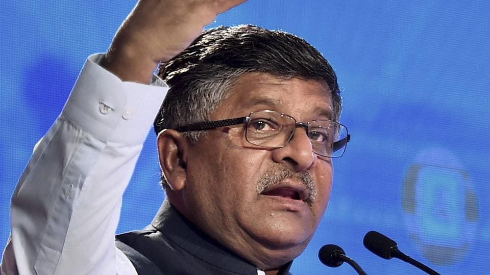 Union law minister Ravi Shankar Prasad launched a website -- doj.gov.in ---- in New Delhi on Thursday for the lawyers to register themselves for pro bono service.