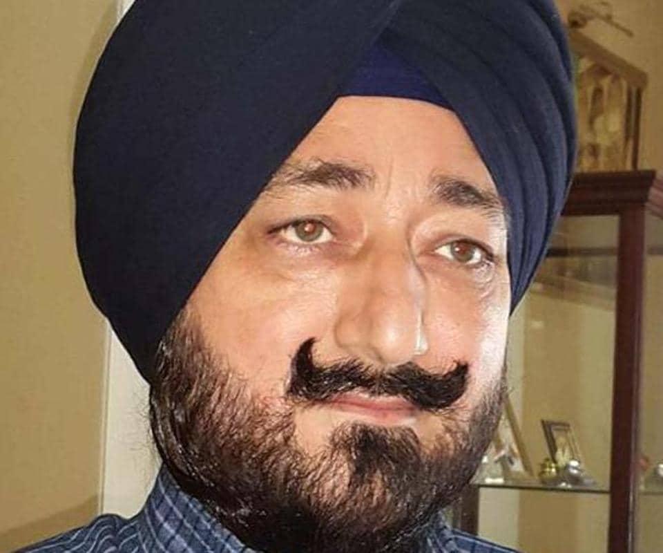 Gurdaspur ex-SP Salwinder Singh.