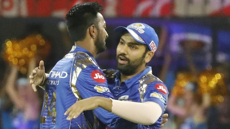Mumbai Indians skipper Rohit Sharma (R) had high praise for teammate Jos Buttler and also praised Kings XI Punjab batsman Hashim Amla for his century.