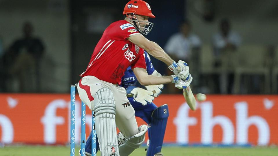 Shaun Marsh gave Kings XI Punjab a fiery start, scoring 26 of 21 balls, in their Indian Premier League match against Mumbai Indians. (BCCI)