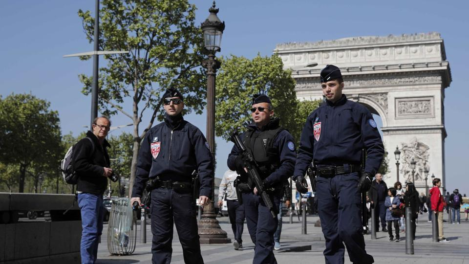France terror attack,French cop shot,French elections