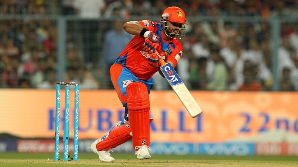 But Gujarat Lions needed a mature knock from Suresh Raina, who hit 84 off 46 balls, to bring them close to KKR's total after a short delay due to rain. (BCCI)