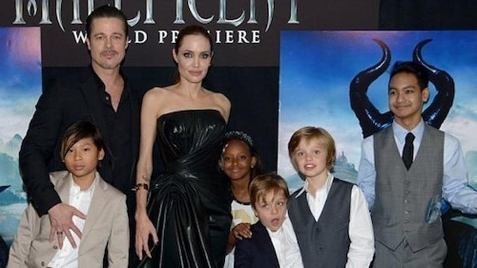 Brad And Angelina Twins 2016
