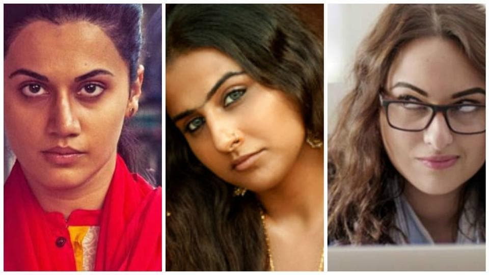 Taapsee Pannu's Naam Shabana, Vidya Balan's Begum Jaan and Sonakshi Sinha Noor led the optimistic cinema lover to expect some sensible, feminist films that talk of women and are spoken by women.