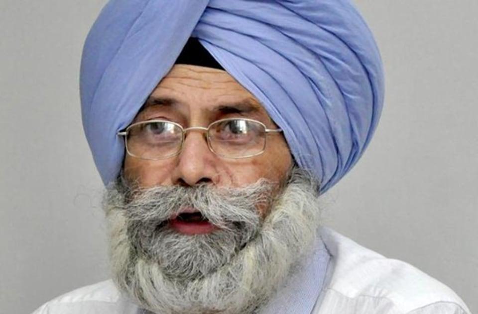 AAP MLA and leader of Opposition in Punjab Vidhan Sabha, H S Phoolka.