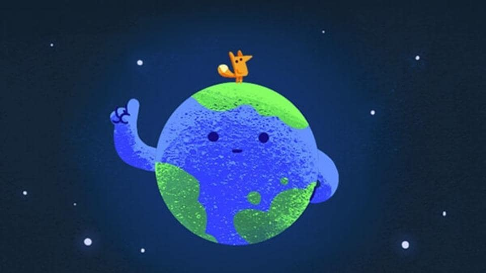 Google Doodle,Earth Day,Save the planet