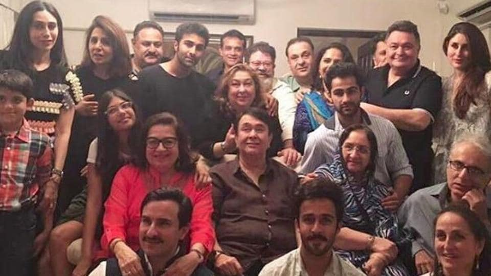 The Kapoor clan celebrated Babita's 70th birthday recently, and it was a perfect family get-together.