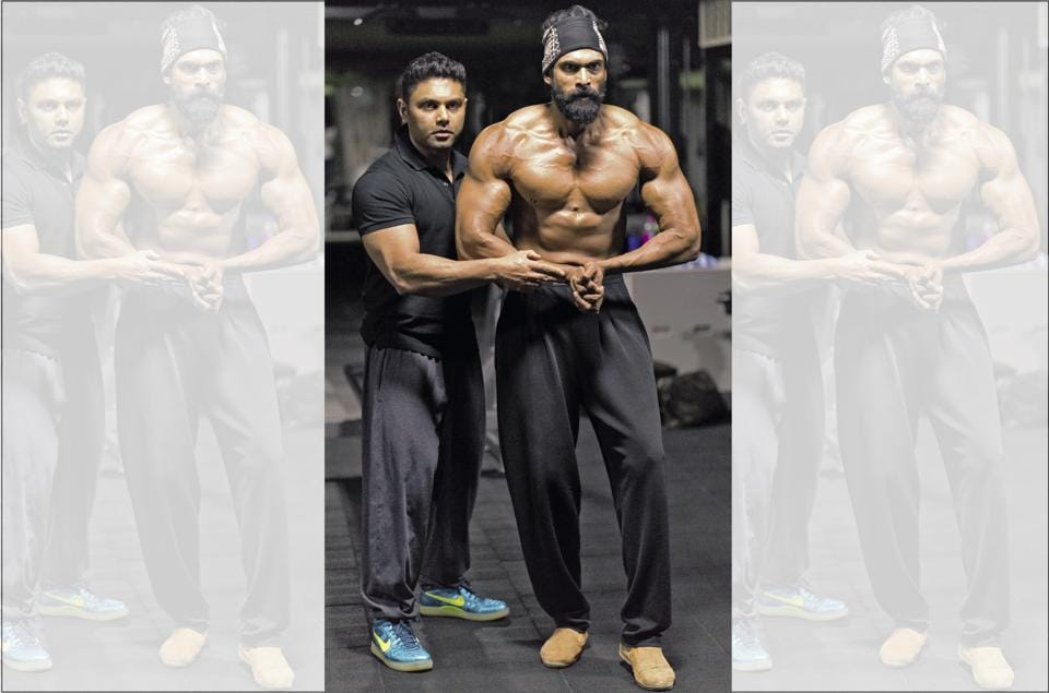 Rana completely let go of cardio workouts and switched to heavy-weight lifting to bulk up