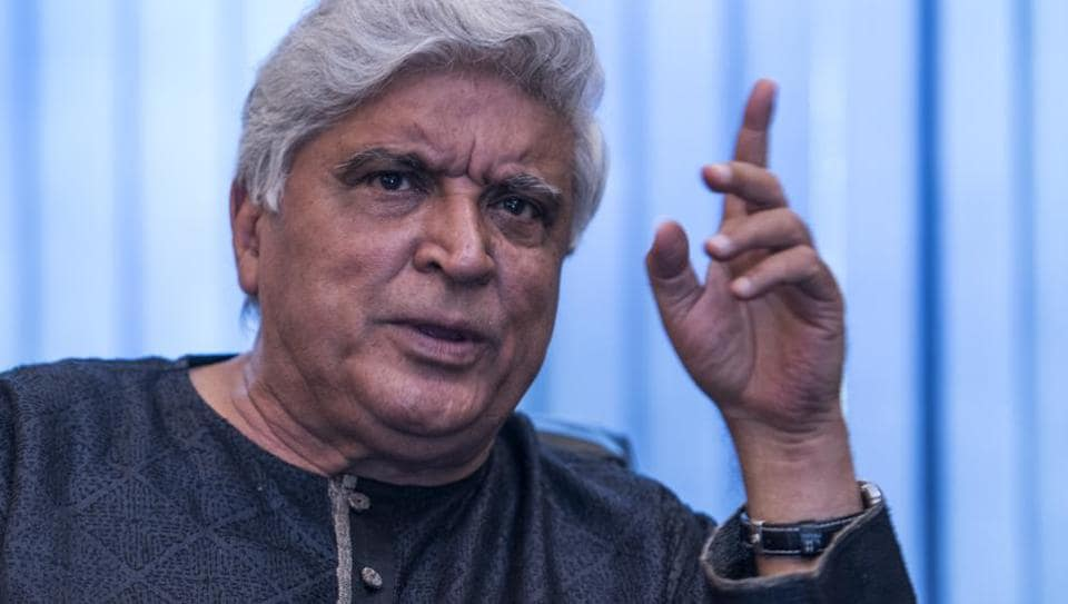 Javed Akhtar at a programme to celebrate 40 years of Sholay. (Photo: Satish Bate / HT)