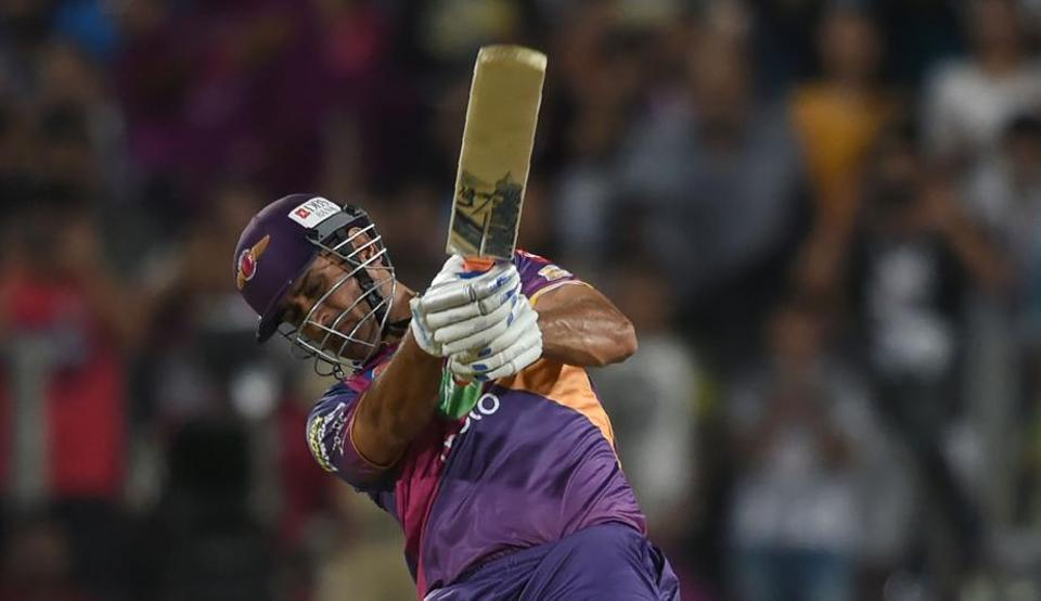 MS Dhoni regained his finishing touch with an unbeaten 64 to hand Rising Pune Supergiant a last-ball victory over holders Sunrisers Hyderabad in the Indian Premier League at Pune on Saturday.
