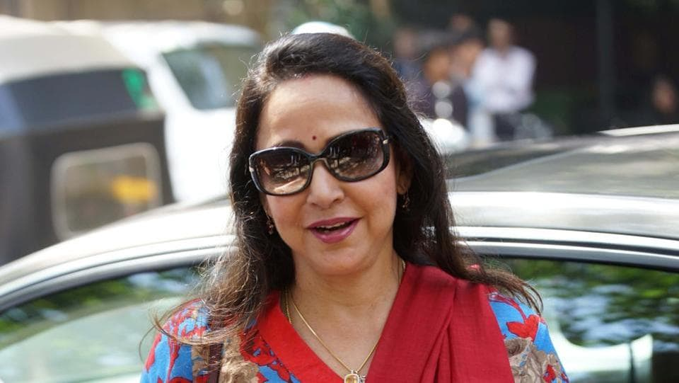 An MLA make derogatory remarks against veteran actress and MPHema Malini  saying the she drinks everyday but hasn't committed suicide.