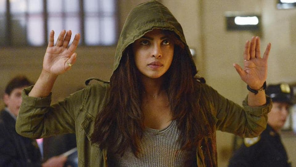 Priyanka plays FBIrecruit Alex Parrish in Quantico.