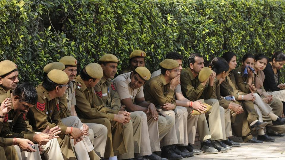 The paramilitary personnel will be deployed at the 13,022 polling booths while Delhi Police will be keep an eye on 'mischief mongers' in surrounding areas.