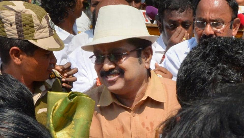 AIADMKleader TTV Dinakaran said he would speak to the media only after his return from New Delhi.