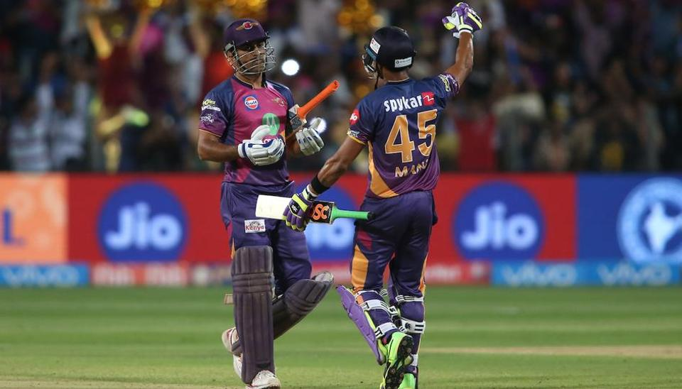 Riding on Mahendra SinghDhoni's fiery half-century, Rising Pune Supergiant clinched a last-ball thriller vs Sunrisers Hyderabad by four wickets to climb to fourth spot in IPL 2017 standings. Get full cricket score of RPS vs SRH here