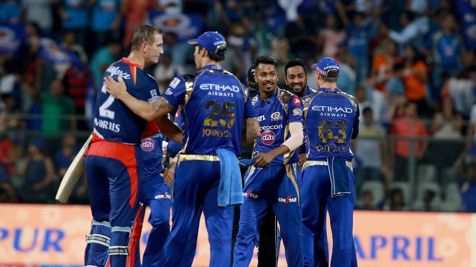 Chris Morris slammed a fifty and shared a 91-run stand with Kagiso Rabada but it went in vain as Mumbai Indians won by 14 runs against Delhi Daredevils. Get highlights of Mumbai Indians vs Delhi Daredevils here.