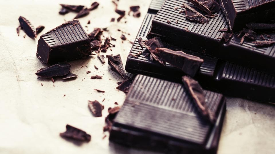 Researchers say that epicatechin, a flavonol found in dark chocolates, helps in improving memory and anxiety levels.