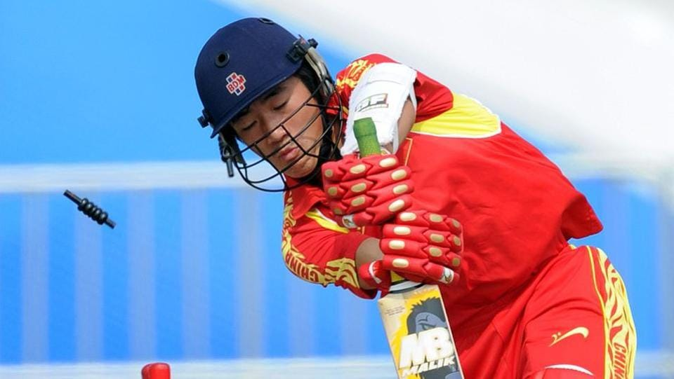 China bowled out for 28 in World Cricket League qualifier