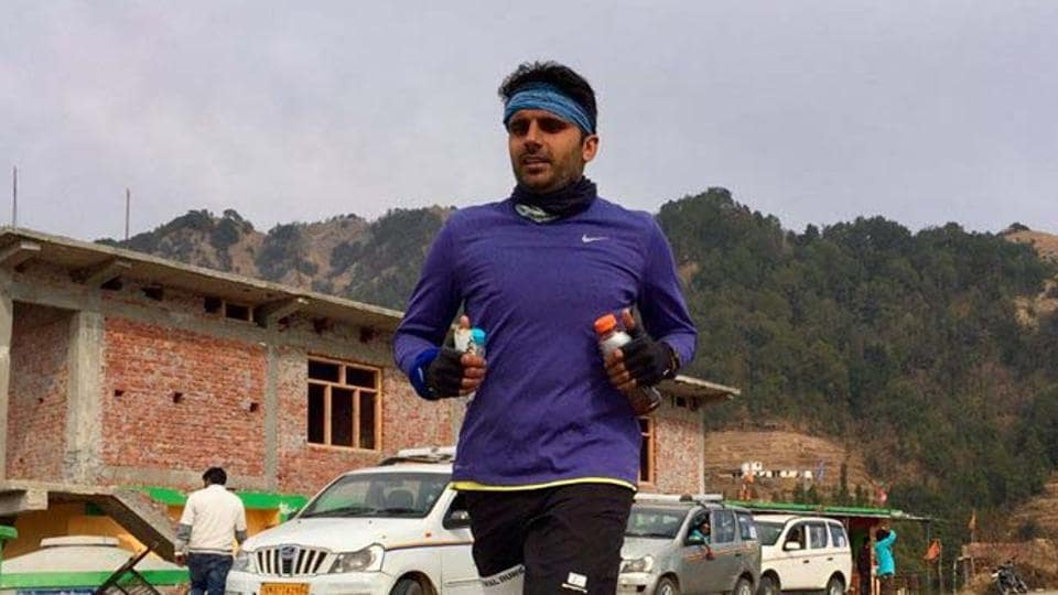 After initially running half-marathons, Amit Kumar graduated to ultra marathon and has taken part in a number of events