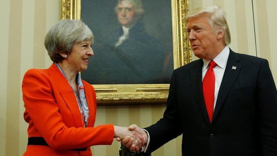 Donald Trump,Theresa May,UK