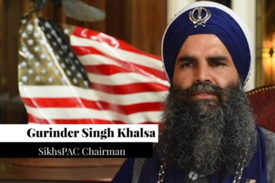 Gurinder Singh Khalsa, chairman of Sikhs political affairs committee