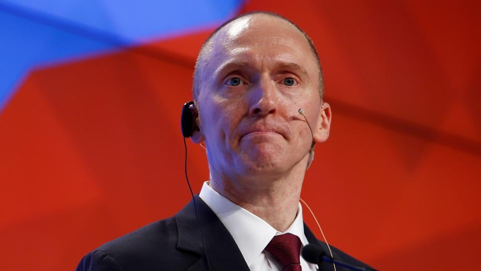 A Russian agent would likely have concealed his or her true role or identity while speaking with Trump's foreign policy aide Carter Page (in picture), who himself has vigorously denied any possible collusion with Moscow.